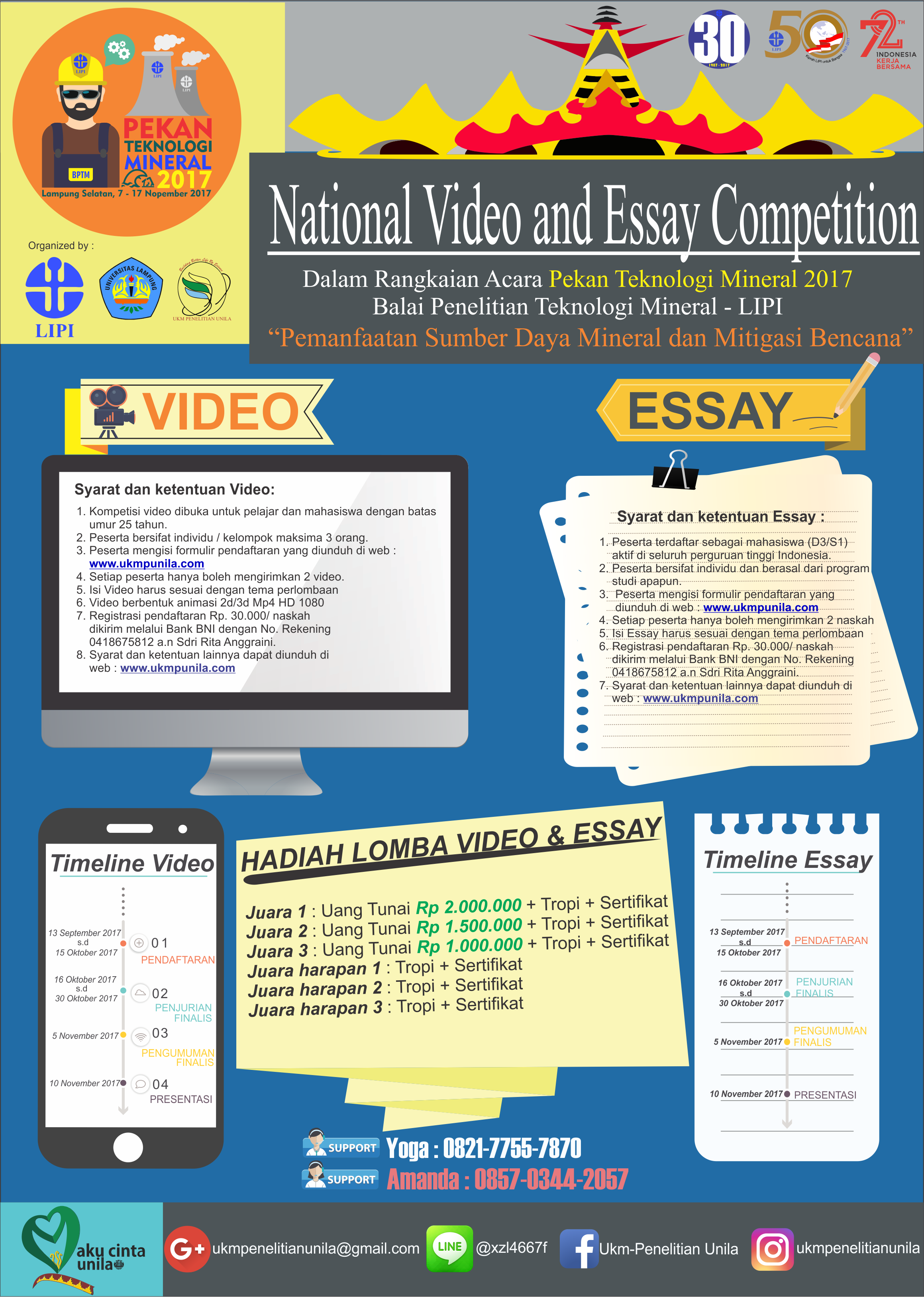 VIDEO-ESSAY COMPETITION